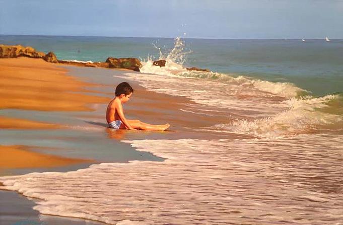 Beach Boy, 24x36