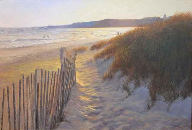 Second Beach, 24x36
