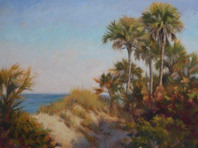 Sunshine and Palms 5931, 12x16