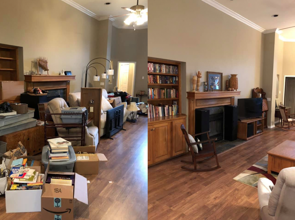 complete house unpack - We completely unpacked and organized this home after move in to help get things off to the right start.