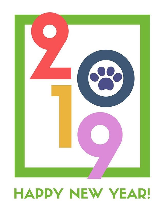 To all of our friends here and afar who have stood by us and who seek to help make the lives of pets better everywhere, we wish you a very happy New Year! We're excited about what 2019 has to hold! Cheers to a wonderful year for us all! 🎉🐾🆙