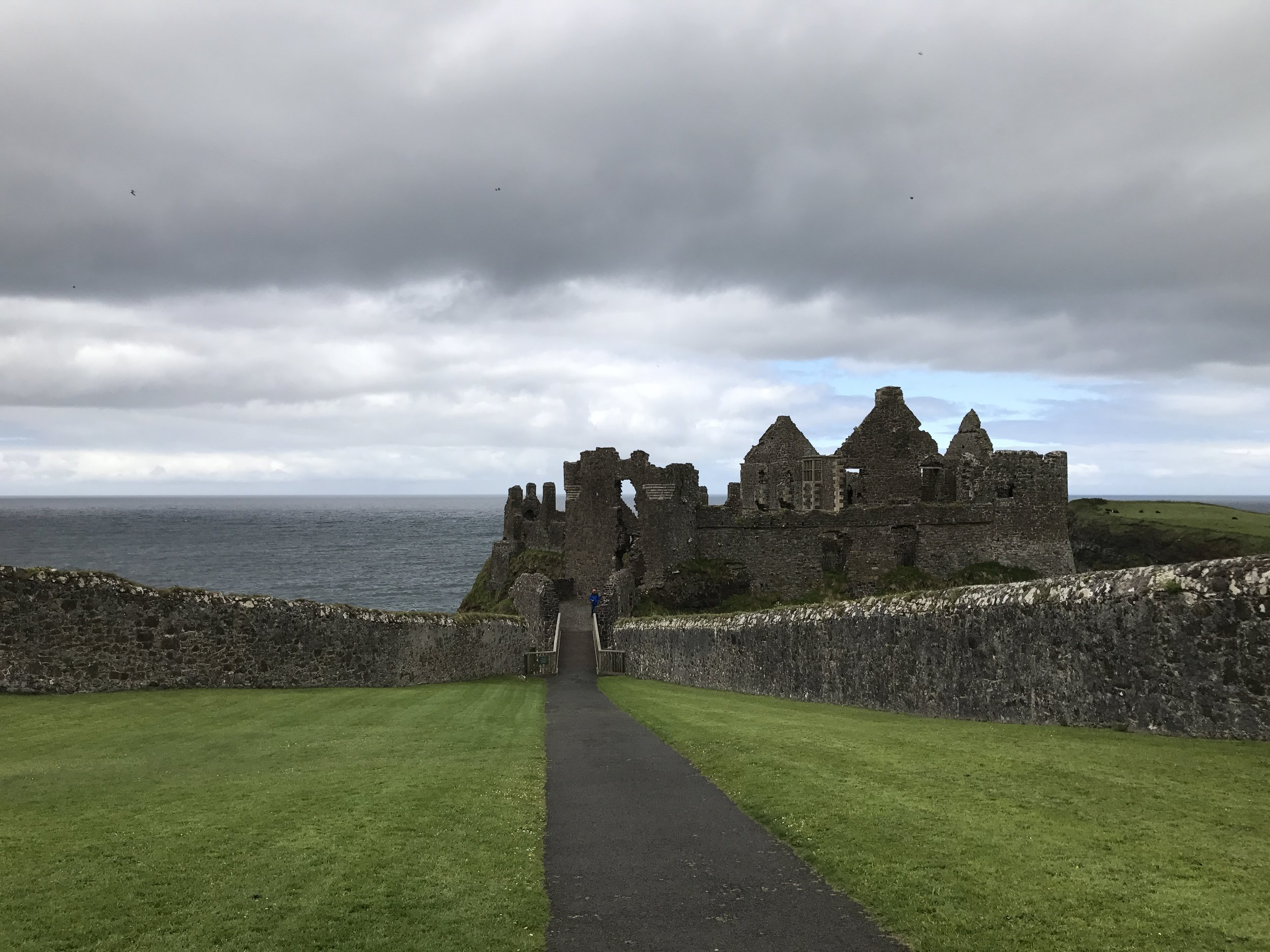 Castle on the rocks