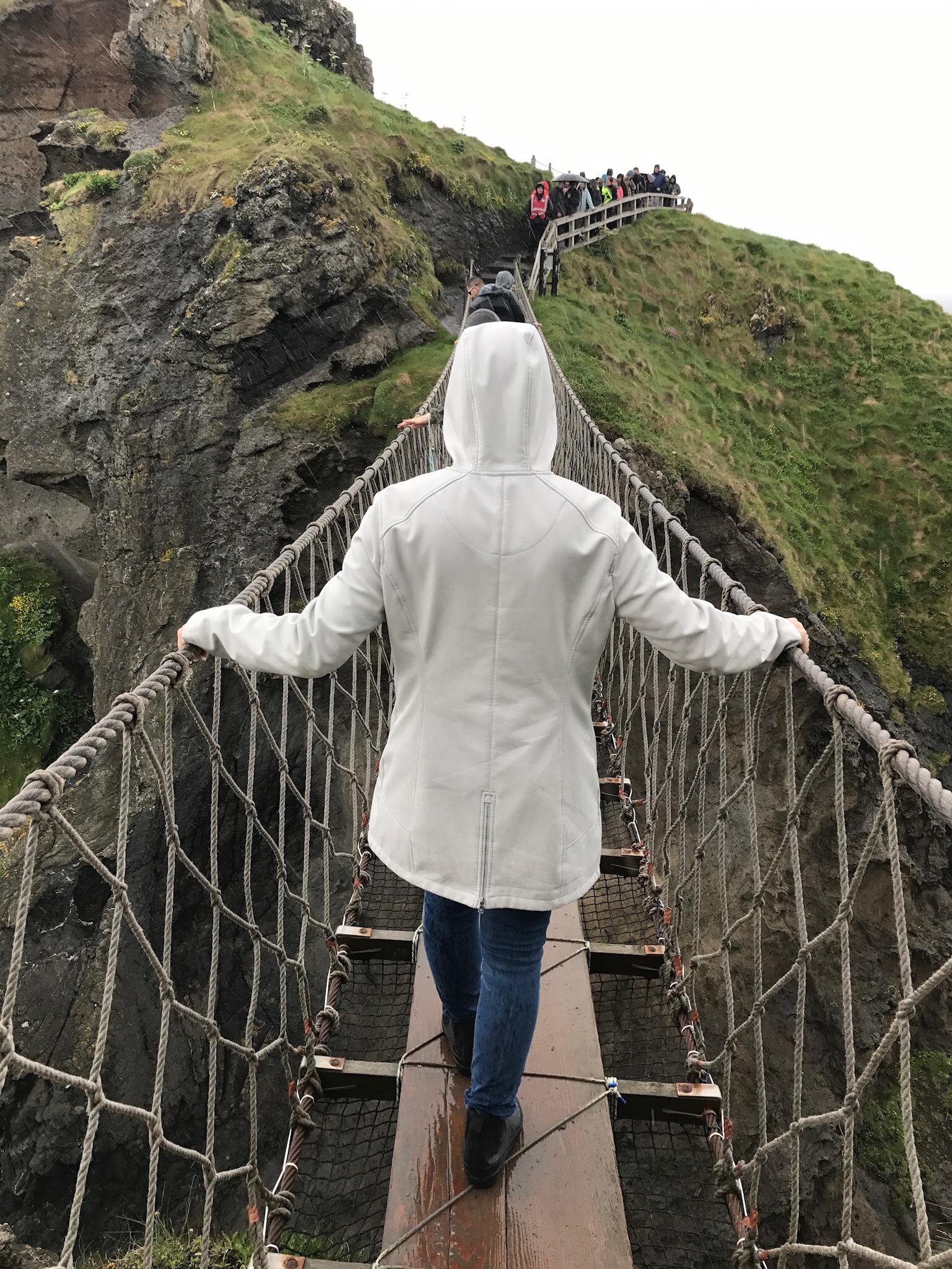 Ireland Travel Guide Rope Bridge