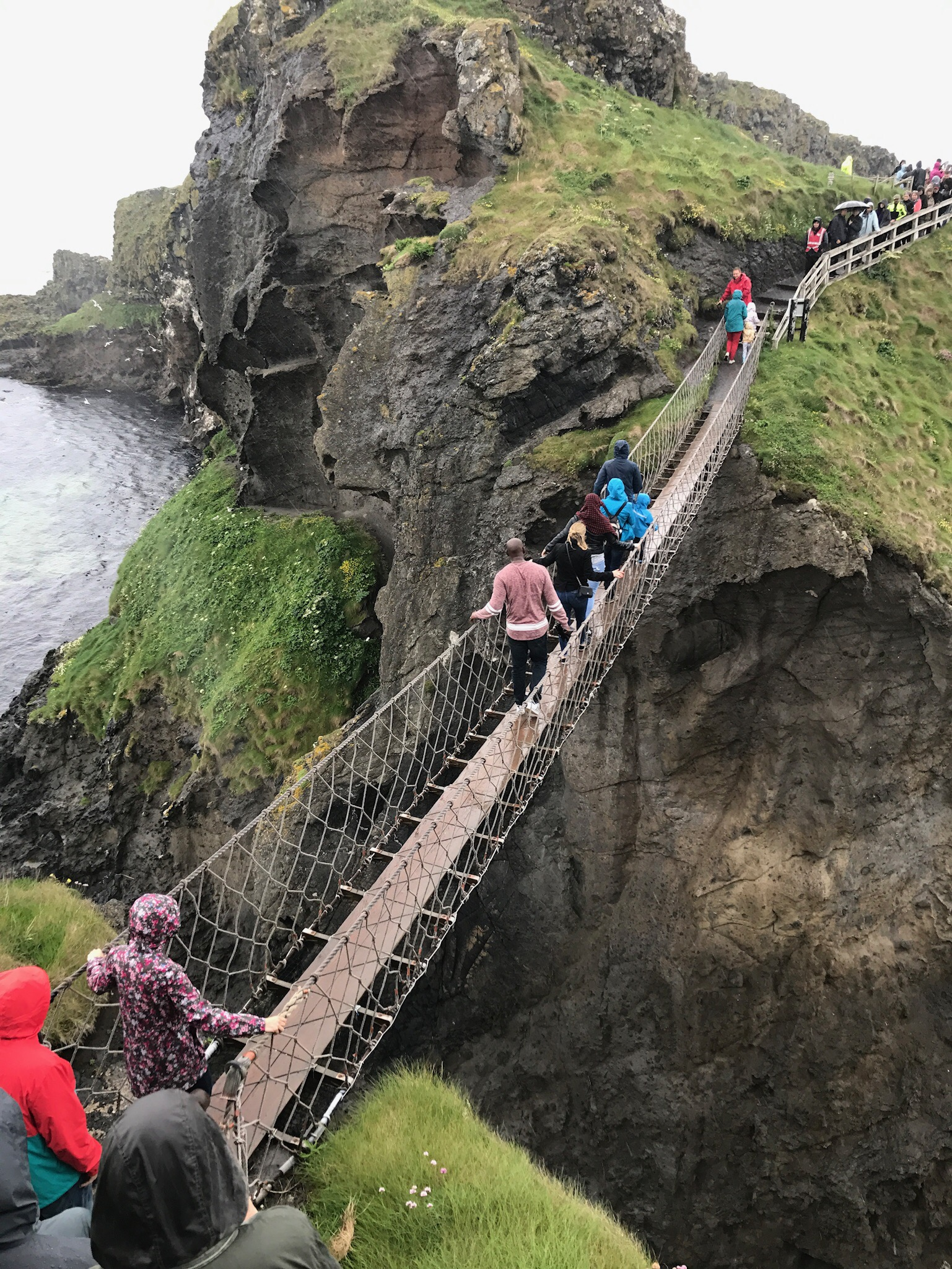Ireland Travel Guide Rope Bridge