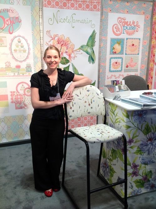 First Surtex Show - May, 2012