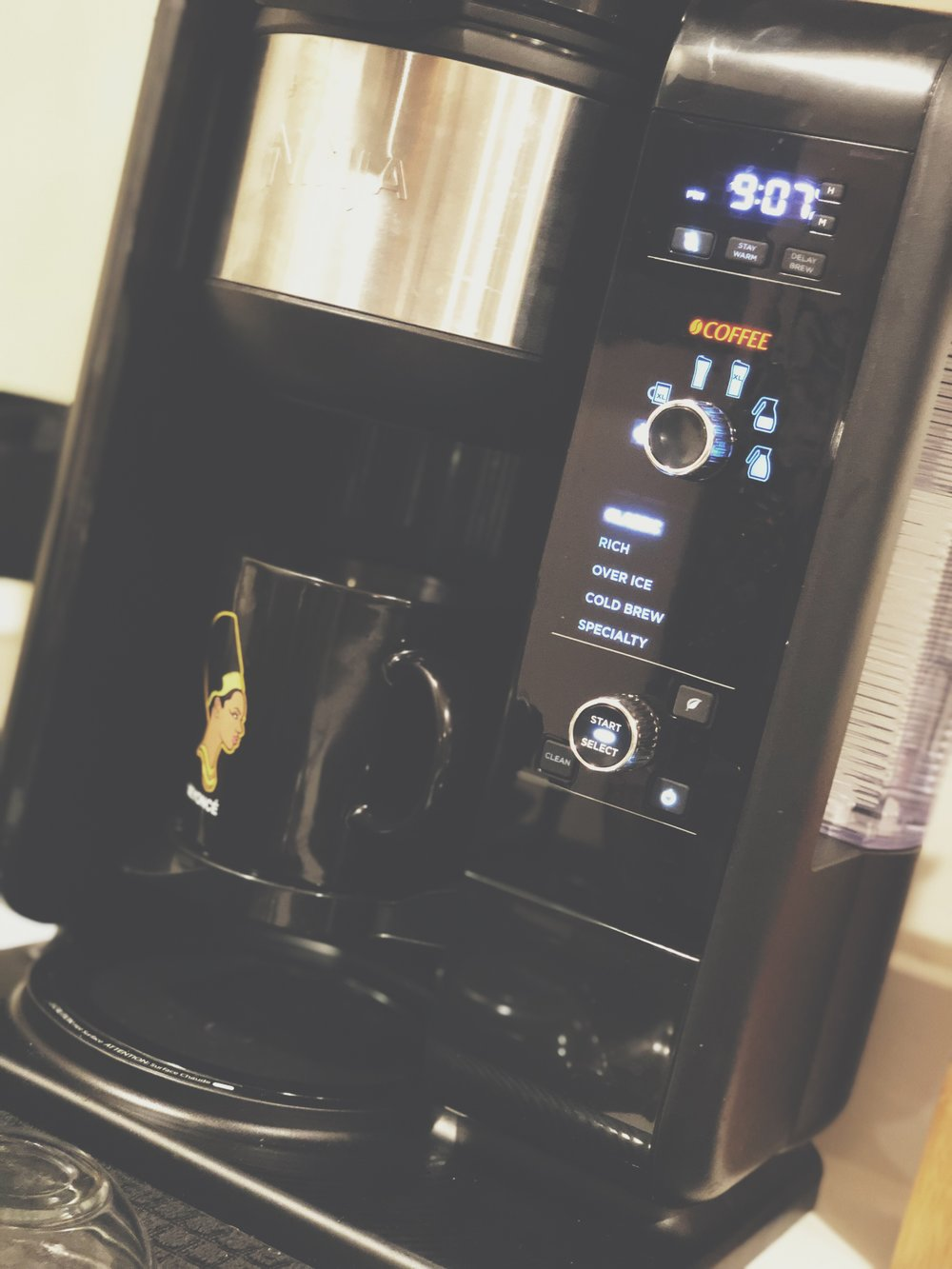 my new favorite toy- ninja coffee+tea maker