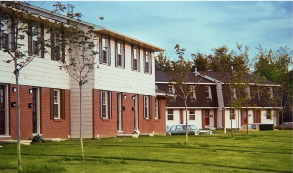 50 UNIT PROJECT, BUILT START TO FINISH IN THREE MONTHS - OTTOWA, CANADA