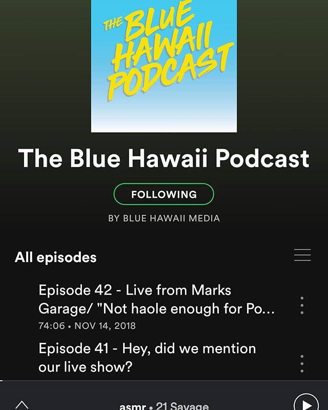 Guys, it finally happened...we made it on #SPOTIFY! Please subscribe, go back and listen to your fave episodes, and get ready for our first new show of 2019, coming at you next week!  PS: And if you don't have spotify, fear not -- we're still on #soundcloud, #itunes, #googleplay, #stitcher, #tunein, and pretty much everything else -- and you'll see more of our vids on #youtube very soon!