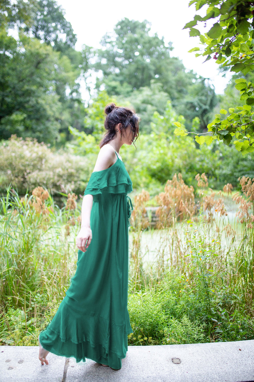 Cassiopeia Dress  Green $545