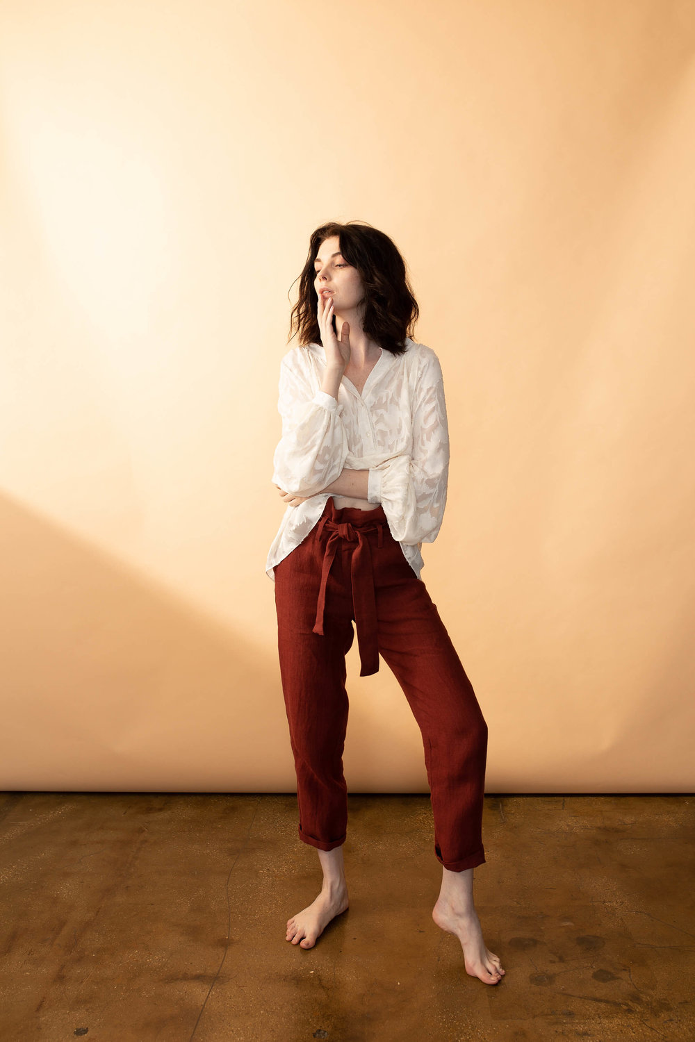 Aries Pant Red Ochre $298