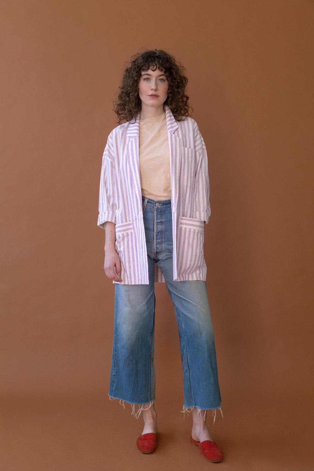 Dobkin Blazer Iris Stripe $425