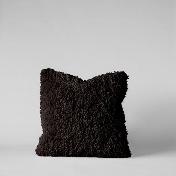 Handmade Wool Shag Pillow, 18x18 $135