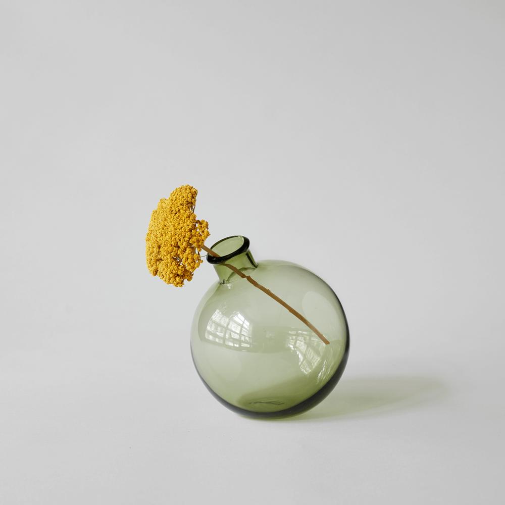 Recycled Glass Bud Vase $28