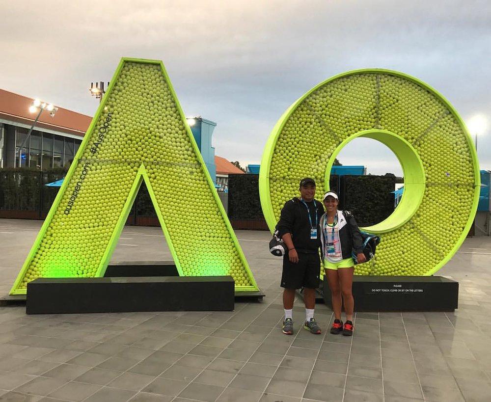 UPenn - Wharton - Jimena Rodriguez-Benito (Miami, Florida)#160 ITF World Junior RankingBlue-Chip Recruit - #11 on Tennis Recruitingdef. Melene Helgo (#29 ITF Juniors)Qualified at Australian Open Juniors