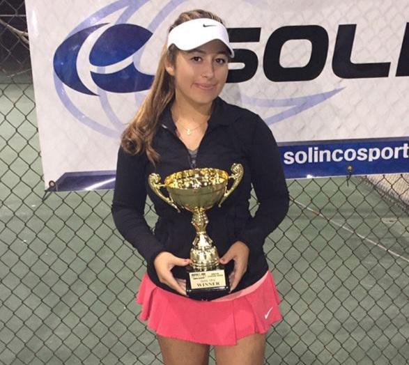 NYU - Stern business - Julia Goldberg (Tarzana, California)#388 ITF World Junior Ranking53rd Copa del Cafe ITF (G1) - Doubles SemifinalistChuquiago Junior Open ITF - Doubles Finalist