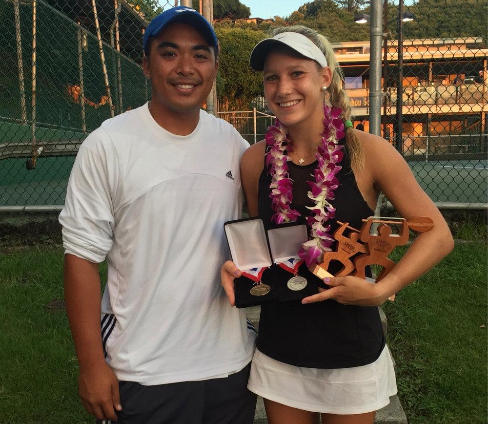 harvard university - Lexi Milunovich (New Cannan, Connecticut)5-Star Recruit - #34 on TennisRecruitingUSTA National Open - Singles 3rd PlaceUSTA National Open - Doubles Champion