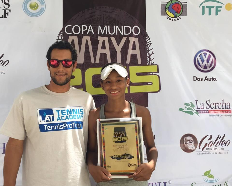 Notre Dame - Zoe Spence (Chicago, Illinois)Blue-Chip Recruit - #19 on TennisRecruiting#226 ITF World Junior RankingCopa Mundo Maya ITF - Singles Championdef. Yuki Naito (#32 ITF Juniors)