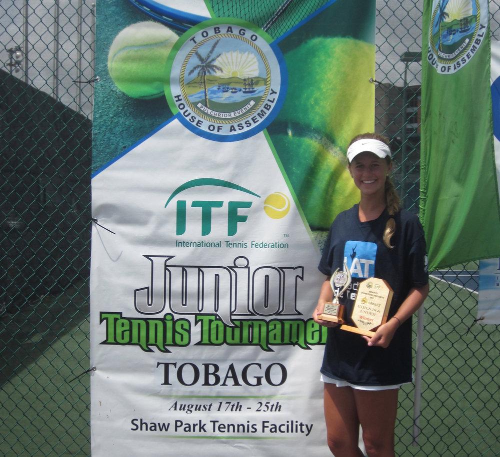 Univ. of alabama - Maddie Pothoff (Tucson, Arizona)Blue-Chip Recruit - #10 on TennisRecruiting#251 ITF World Junior RankingUSTA National Clay Court - Doubles ChampionNCAA D1 National Championship - Doubles Finalist