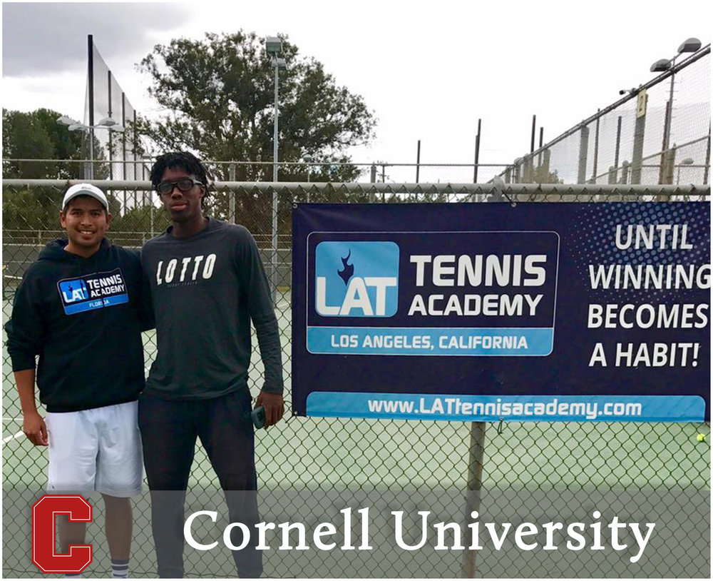 - Alafia Ayeni (San Diego, California)#27 ITF World Junior RankingBlue-Chip Recruit - #3 on TennisRecruitingEaster Bowl ITF Championships - Champion