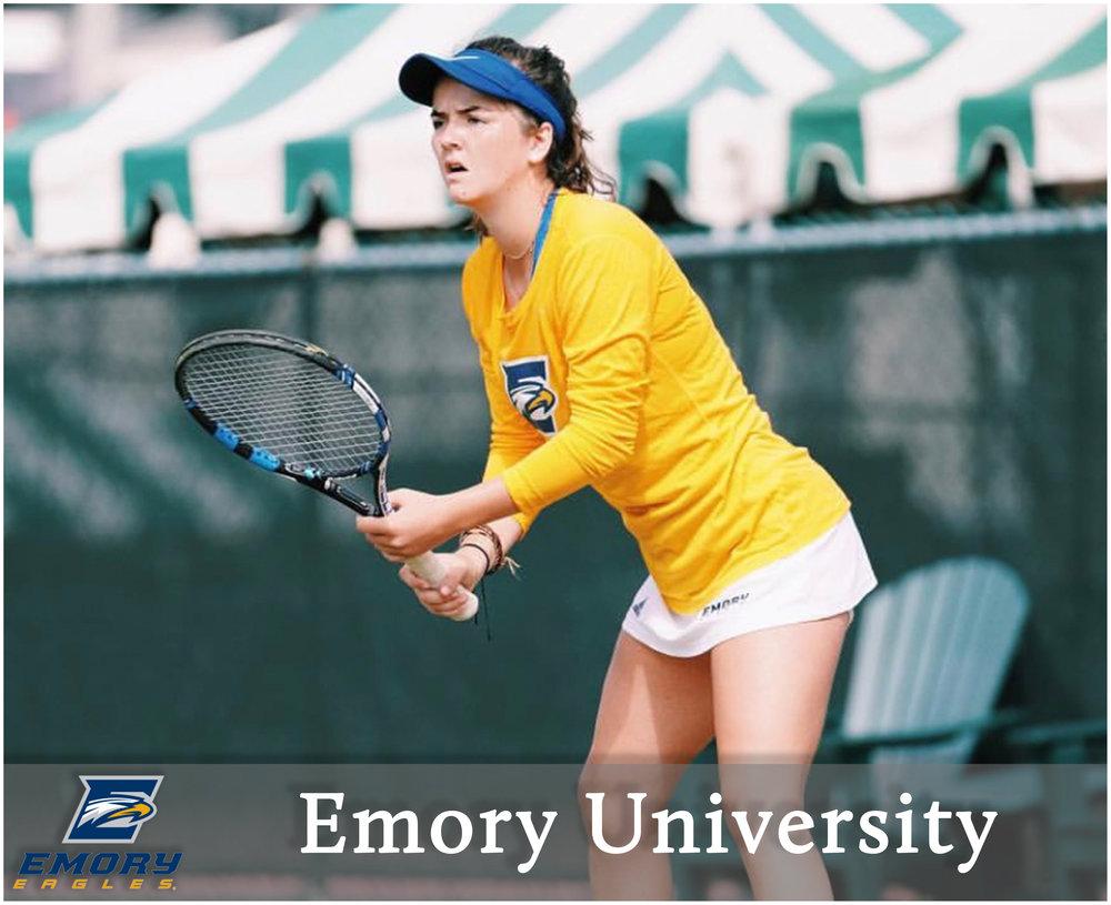 - Emma Cartledge (Roanoke, Virginia)4-Star Recruit - #127 on TennisRecruiting2-time Virginia High School State Champion
