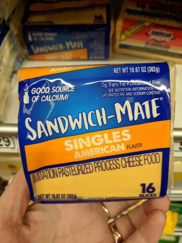 Imitation Pasteurized Process Cheese Food is an example of the food naming practices enacted through the FDA's food identity standards.