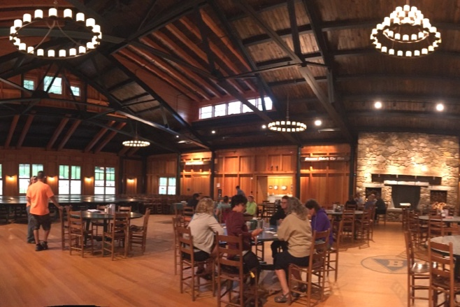 the meals - we're proud to say that our campers truly love our menu! Three healthy adult meals, including vegetarian options are served daily, including a full salad bar. the day finishes off with wine and cheese before dinner and campfire s'mores after dinner. Campers bring their own dog food; refrigerators are available for raw/fresh food feeders.