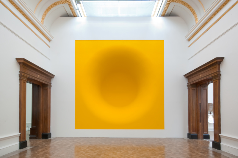 Anish Kapoor,  Yellow,  2009.