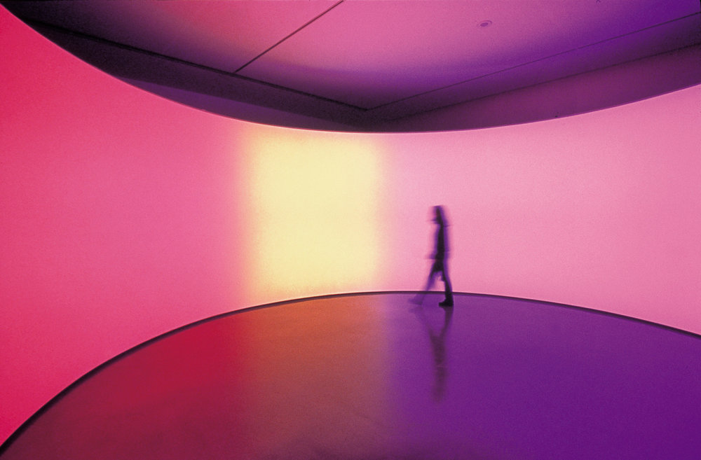 Olafur Eliasson,  360° room for all colours , 2002
