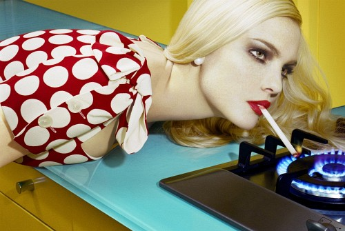 Miles Aldridge for  Vogue Italia