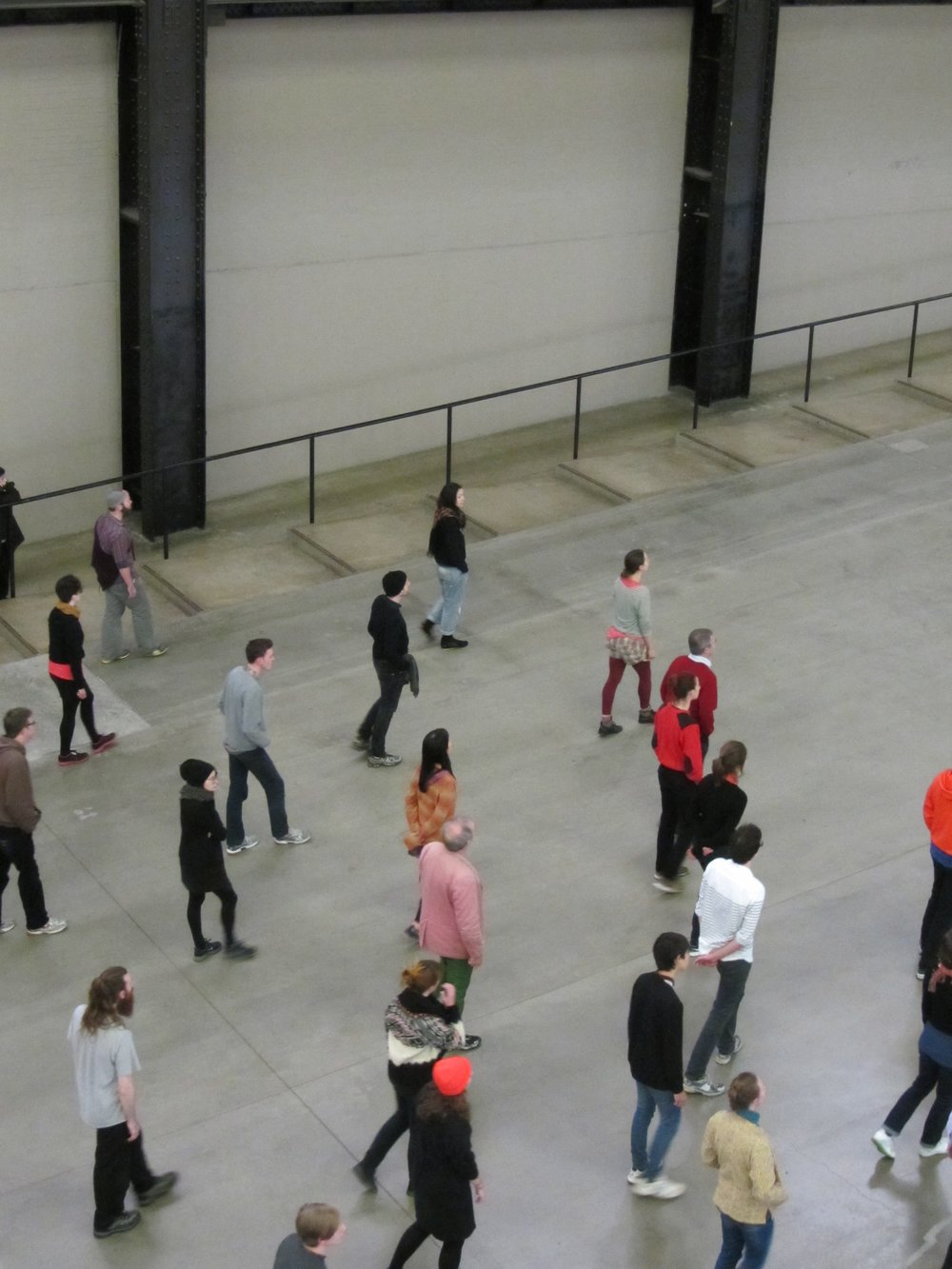 Tino Seghal,  These Associations , Tate Modern, Unilever Series Commission, 2012