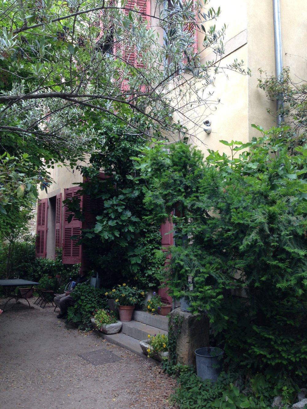 Entrance to Paul Cezanne's studio in Aix-en-Provence