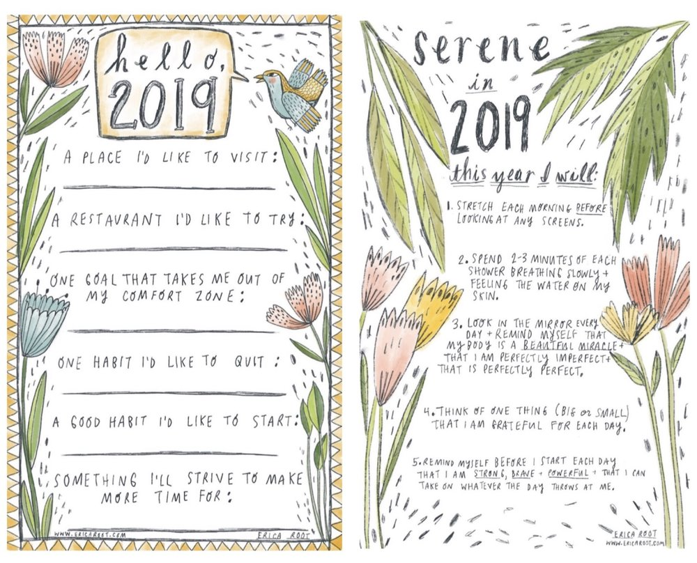 Be kind to yourself in 2019 with attainable goals and healthy rituals rather than resolutions that often seem insurmountable, leaving us feeling like we've failed ourselves.