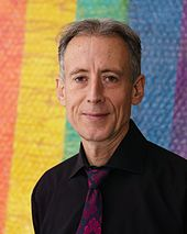 Peter Tatchell, renowned LGBT+and human rights campaigner