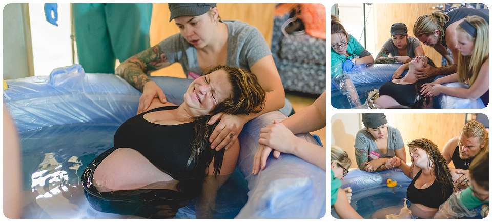 doula in action, center for midwifery, birth photographer, midwife water birth, find a birth photographer