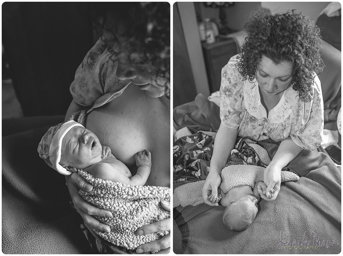 Foothills Homebirth Photographer