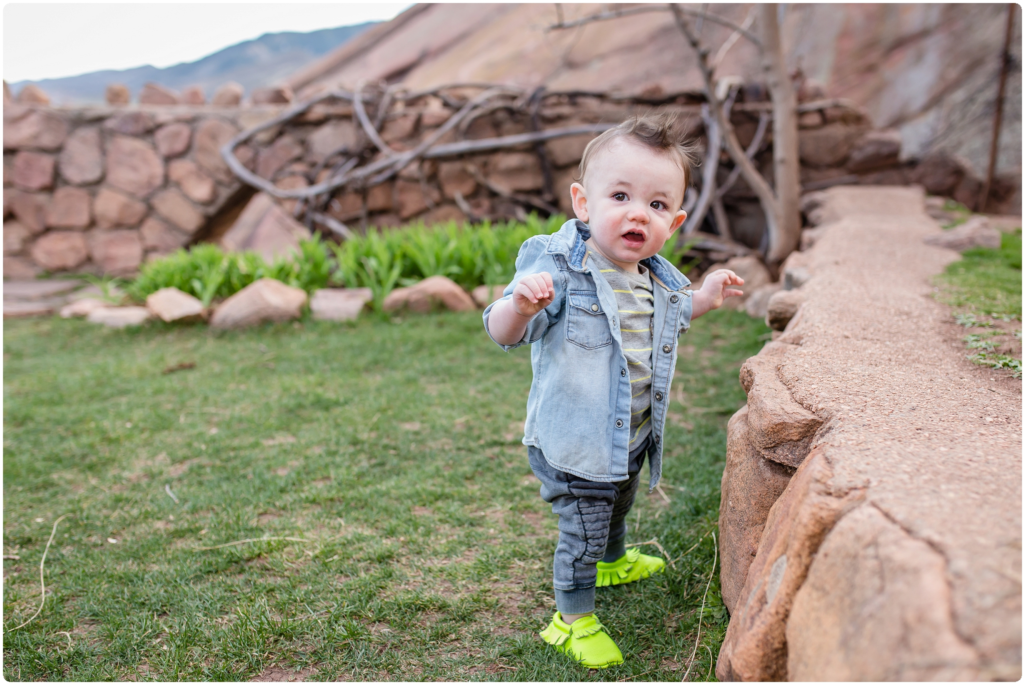 Baby Davis is one, at Red Rocks Amphitheater
