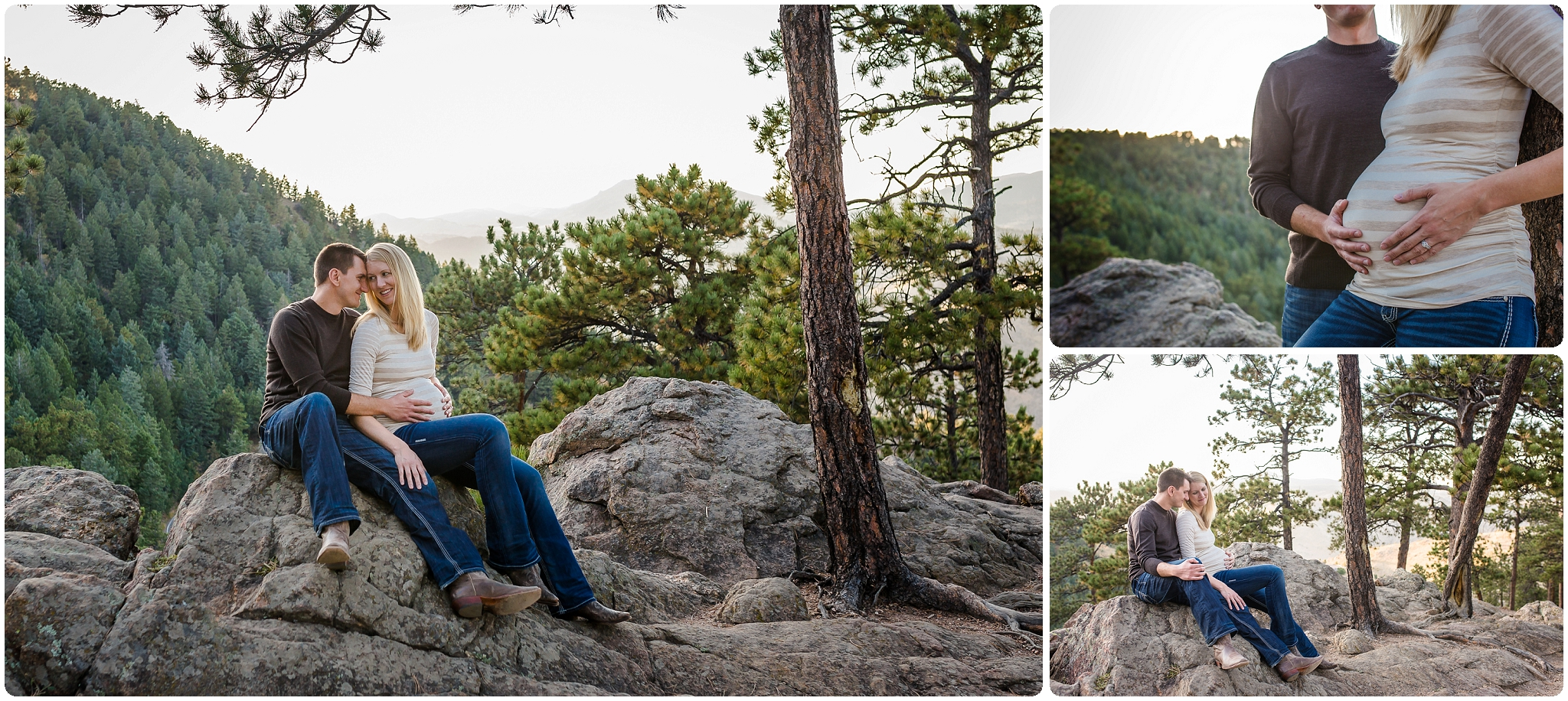 Golden, Colorado and the foothills maternity photographer