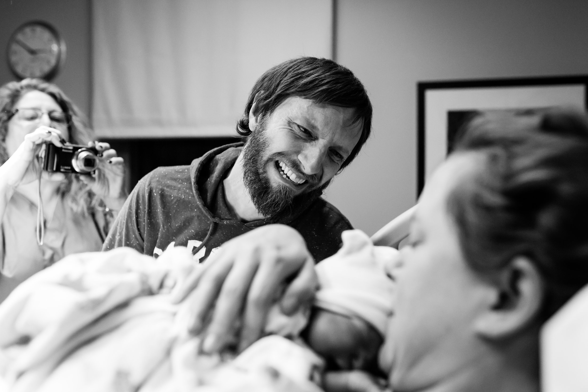 VBAC birth photography