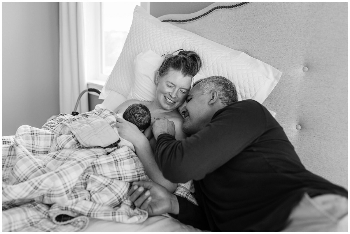 Home Birth Photographer captures love of family