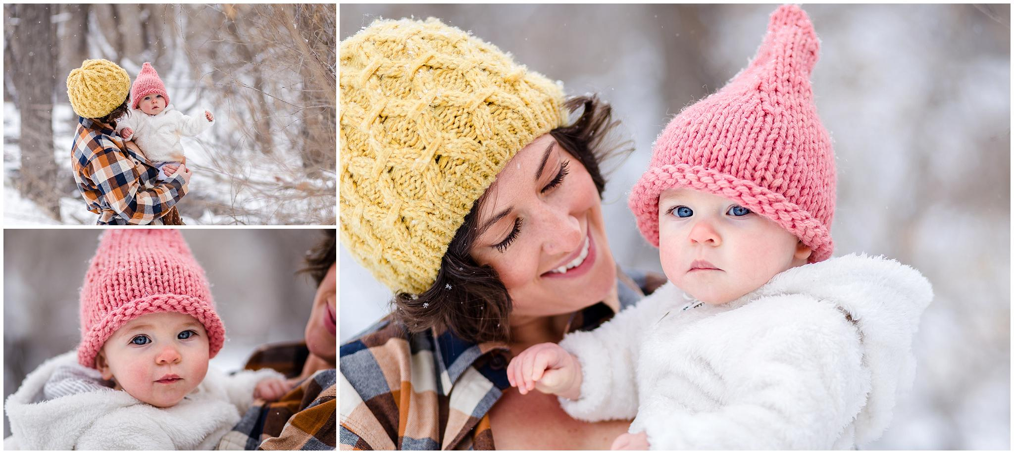 Artistic outside breastfeeding in nature photos in Colorado