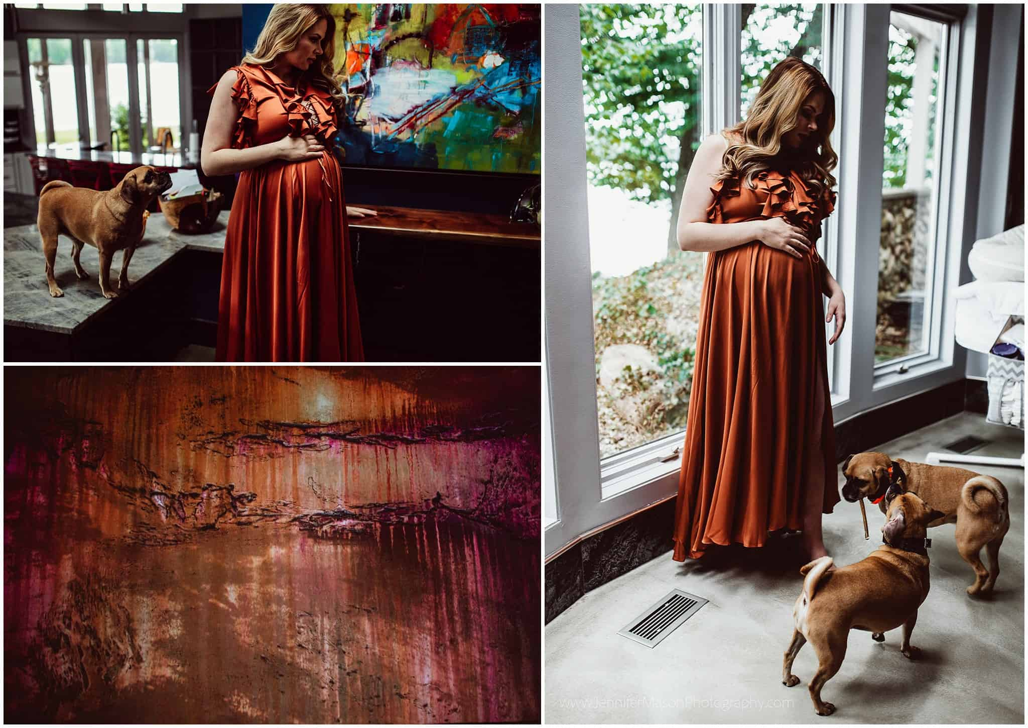 Maternity photography in Michigan