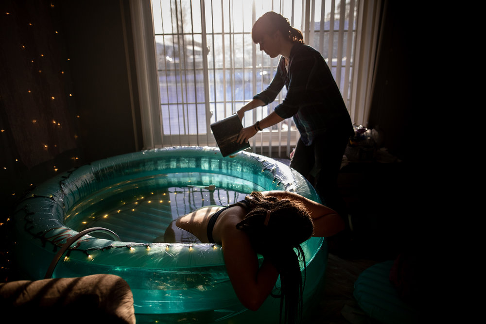 Home-water-birth-photography