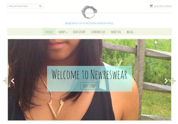 newreswear-website