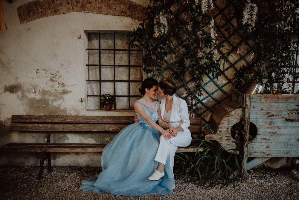SAME SEX WEDDING IN PALLADIO'S CITY -