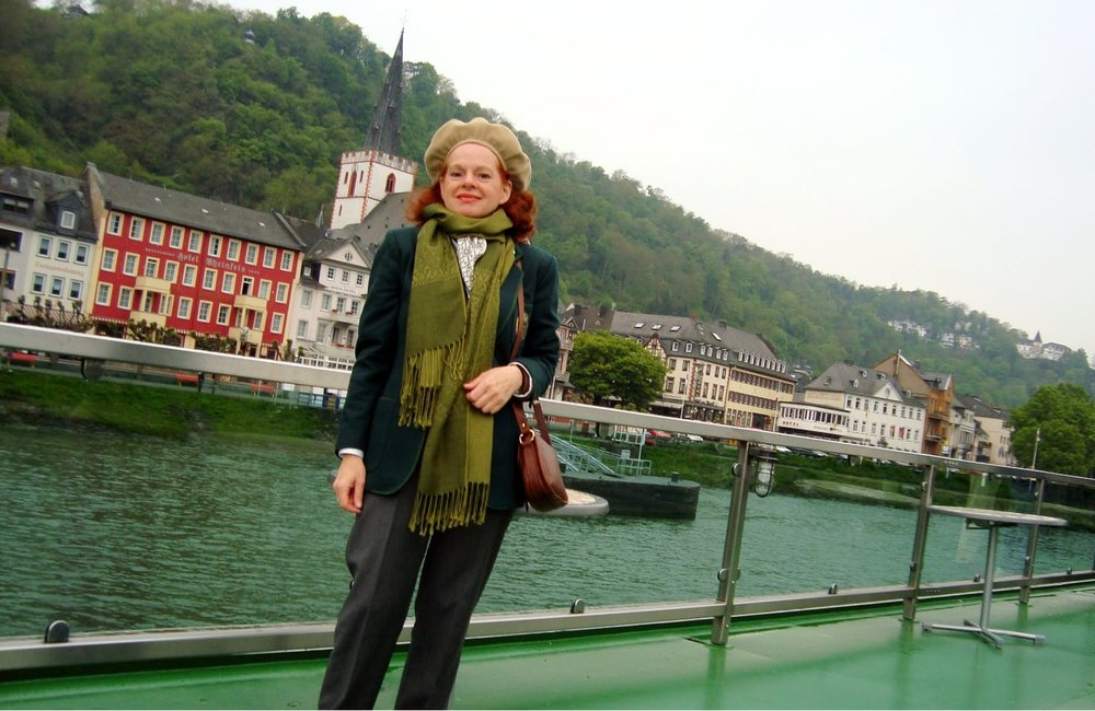 Cruising through the Rhine Valley, Germany