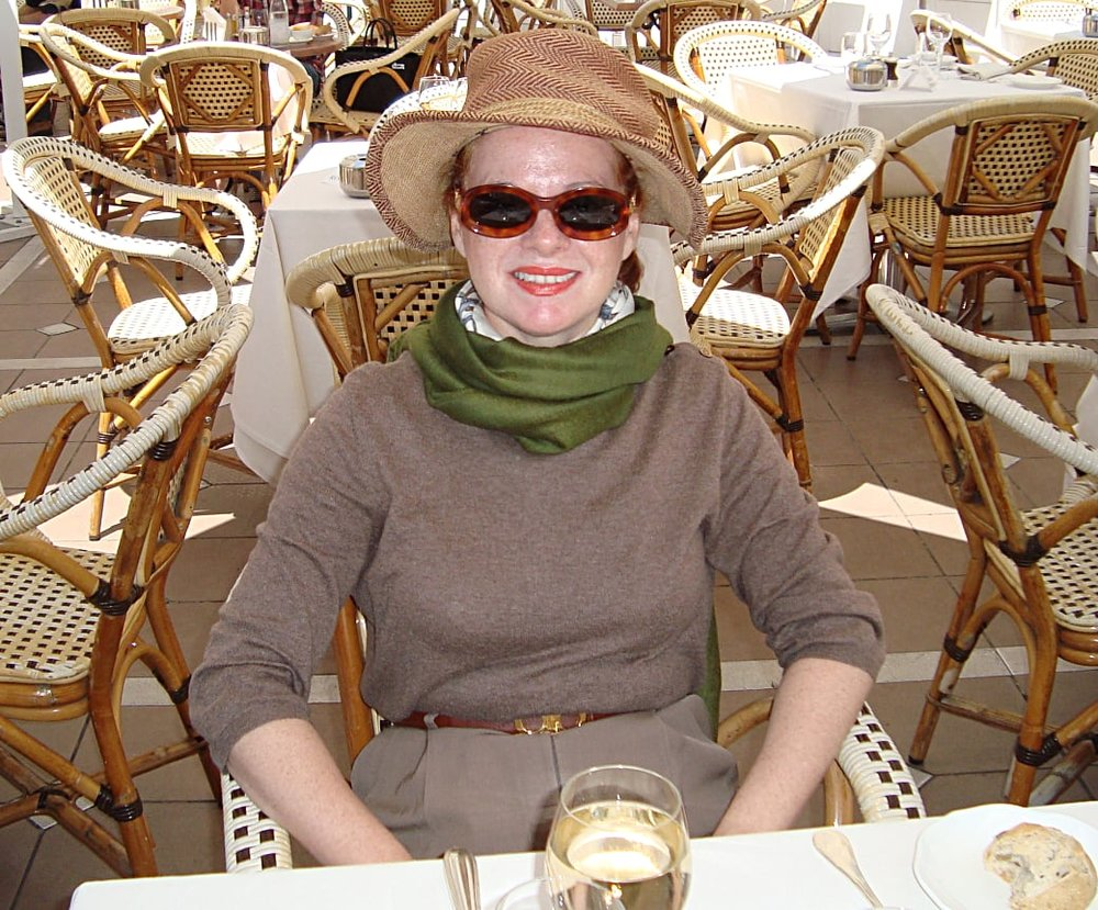 At the Carlton in Cannes, French Riviera