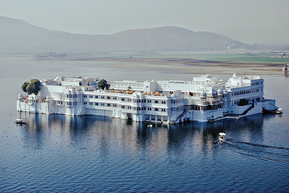 The Lake Palace in Udaipur, India