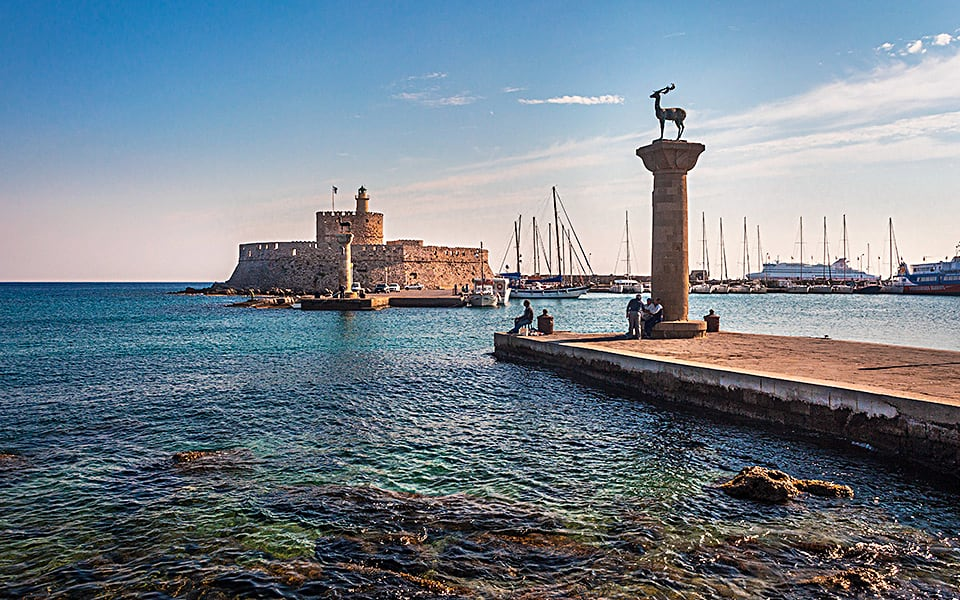 The Port of Rhodes, Greece.jpg