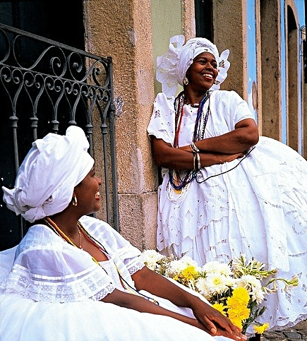 Bahianas, Salvador di Bahia. Brazil