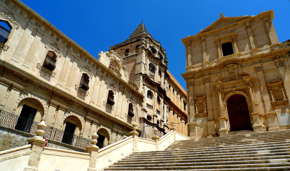 The baroque town of Noto, Sicily, Italy